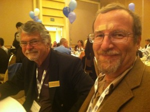 Chubb Michaud (Left) and Dr. Peter Fox (Right) - PWQA 2011 - Irvine, CA