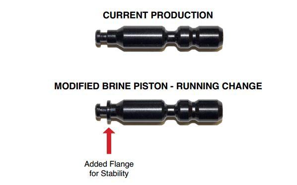 New Clack brine valve